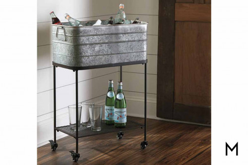 Beverage Tub on Wheels