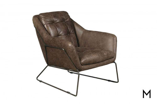 Marina Accent Chair in Brown