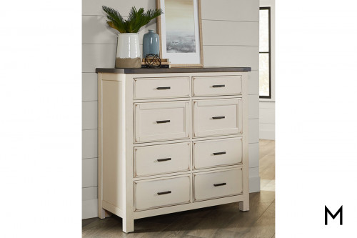 Farmhouse 8-Drawer Linen Chest