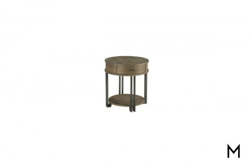 Saddletree Chairside Table