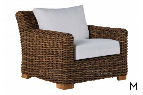 Raffia Outdoor Lounge Chair