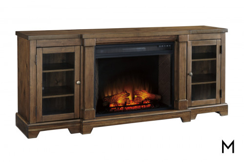 Nathan TV Stand with Fireplace