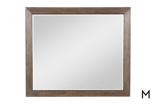 Modern-Rustic Dresser Mirror
