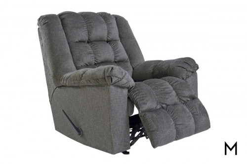 Drakestone Recliner in Charcoal
