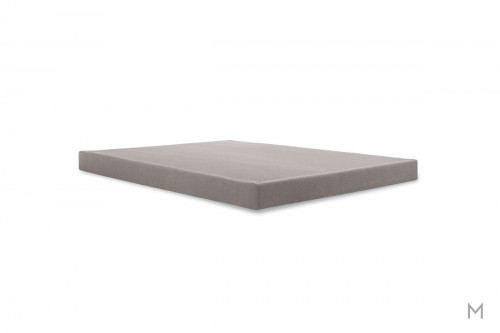 "Tempur-Pedic TEMPUR 5"" Low Foundation - Twin XL in Gray Upholstery"