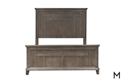 Artisan Prairie King Panel Bed