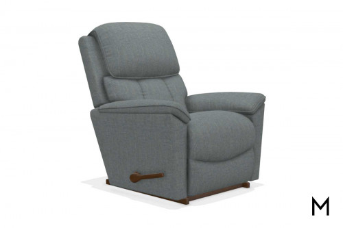 Kipling Rocking Recliner in Stonewash