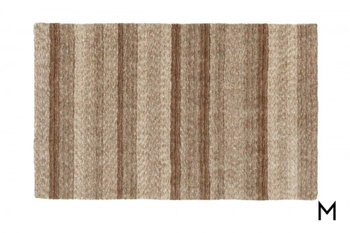 Joplin Earth Area Rug 8'x10' Soft Microfiber