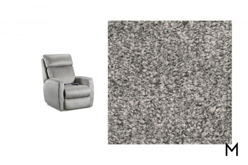 M Collection Primo Wall Hugger Recliner Grey