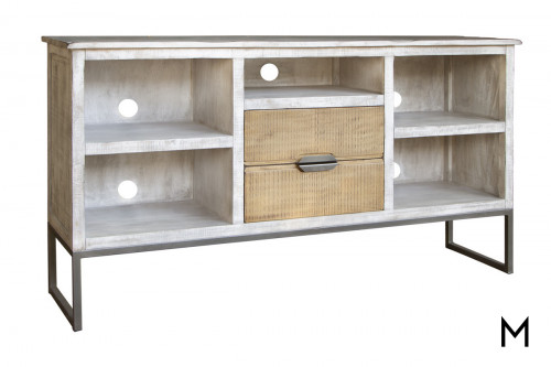 Rustic 2-Drawer TV Stand