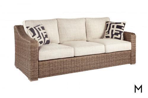Woven Patio Sofa
