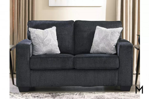 Altari Loveseat in Slate