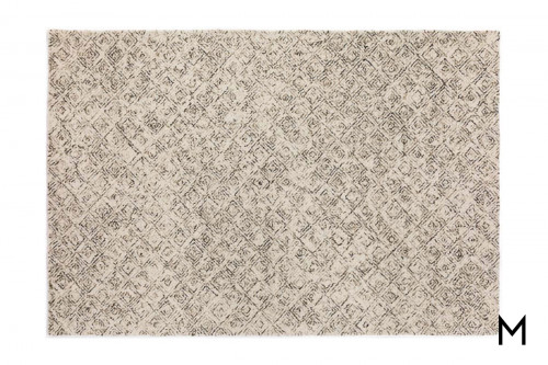 Zoe Chocolate Runner Rug 2'x7'