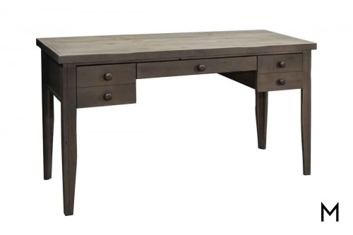 Joshua Creek Writing Desk featuring Drawer and Cabinet Storage