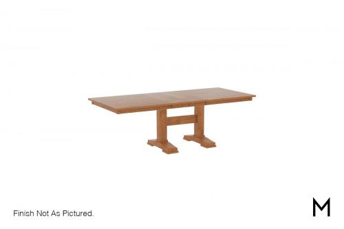 Rectangular Double Pedestal Dining Table