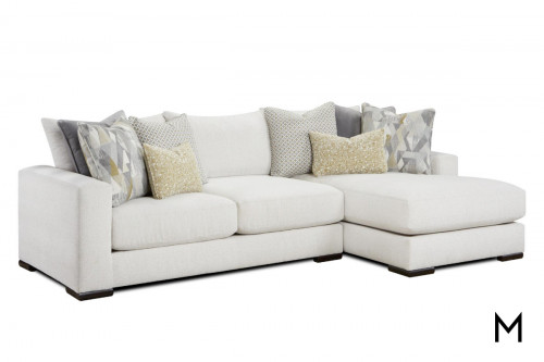 2 Piece Sofa and Chaise