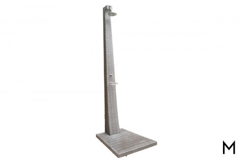 Graphite Outdoor Patio Shower with Stand