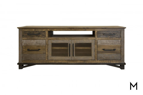 """Rustic 76"""" TV Stand"""