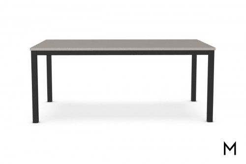 Bennington Dining Table with Concrete Gray Top