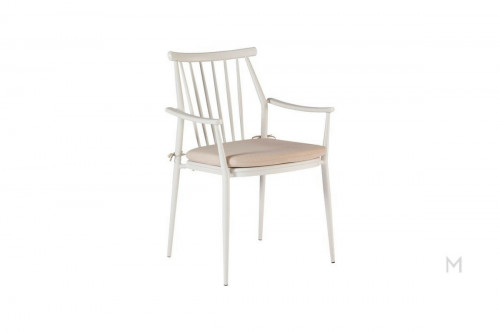 Darrow Arm Chair in White