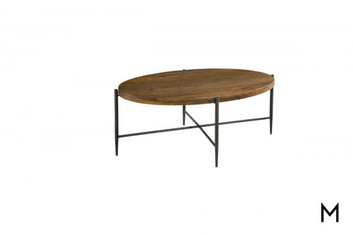 Bedford Cocktail Table in Metal and Wood
