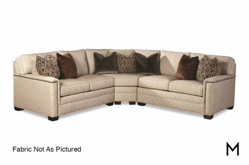 Charleston 3 Piece Sectional