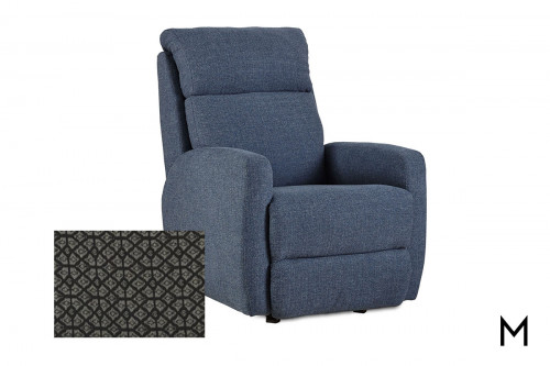M Collection Primo Rocker Recliner in Smart Solutions Fabric