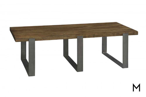 Bedford Park Coffee Table with triple leg base