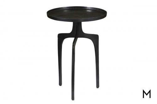 Natalie Accent Table in Black