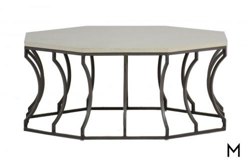 Octagonal Patio Coffee Table