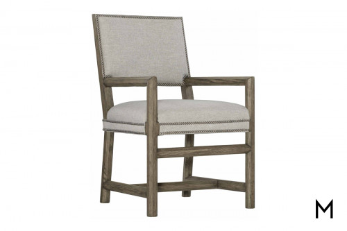 Pine Valley Square Back Arm Chair