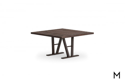 Square Timber Dining Table