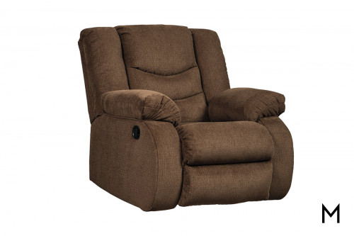 Tulen Rocker Recliner in Chocolate