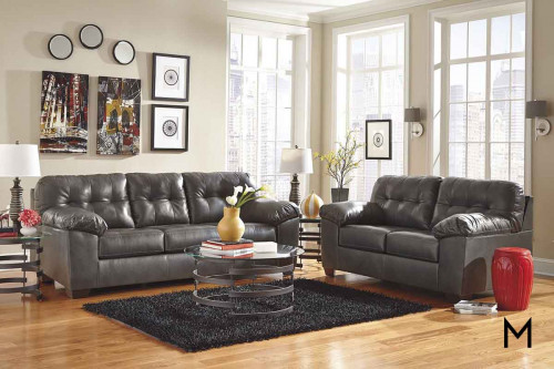 Alliston DuraBlend Sofa in Gray