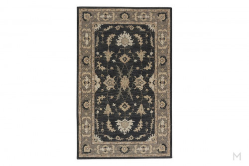 Reverie Area Rug 8' x 11' Color: Black Iris Pelican