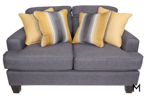Maxwell Loveseat in Gray
