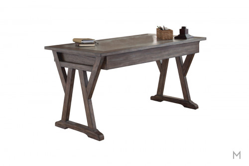 Stone Brook Writing Desk with Antique Pewter Hardware