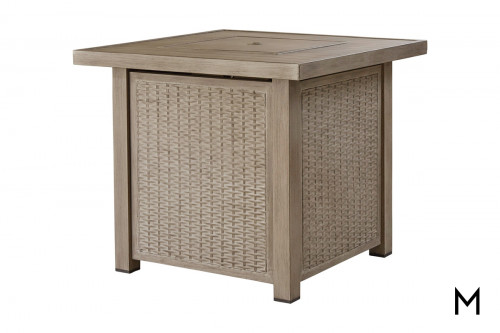 Square Patio Fire Table