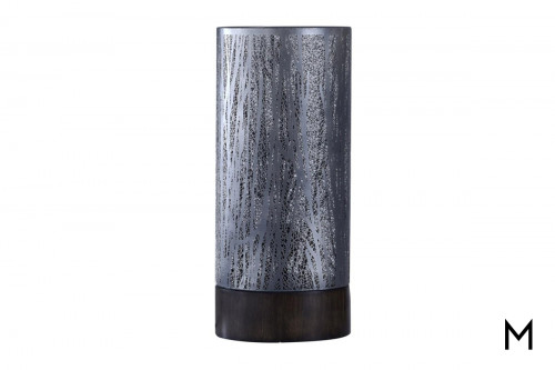 Berkeley Trees Table Lamp with Metal Shade