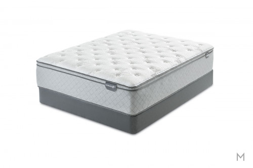 Mattress 1st Harrell Euro Top Mattress - Queen with Gel-Enhanced Memory Foam