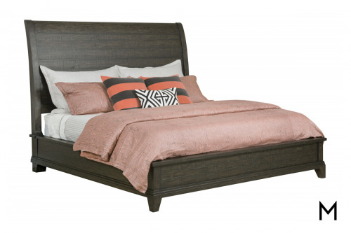 Rugged Sleigh King Bed
