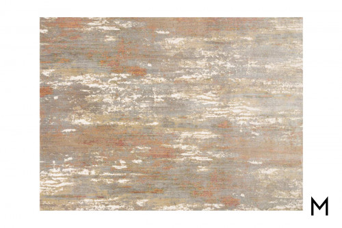 Red Granite Area Rug 7'x9'