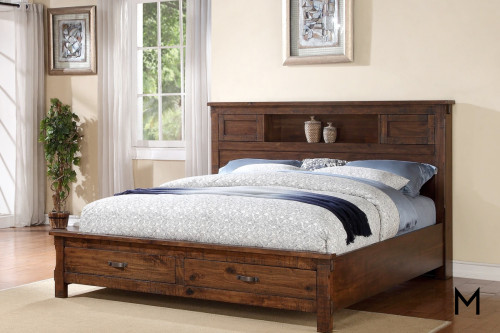 Restoration King Storage Bed