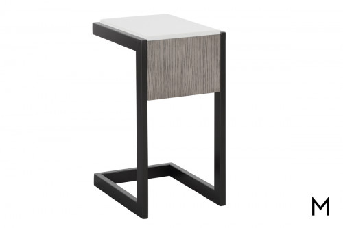 M Collection Modern C-Table with Quartz Top