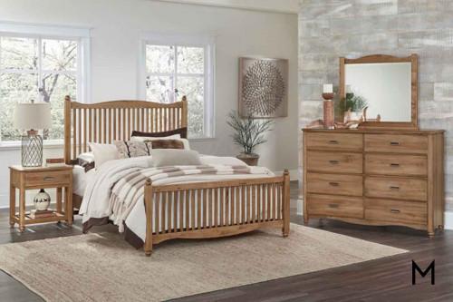 American Maple Bedroom Set