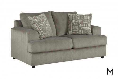 Soletren Loveseat in Ash