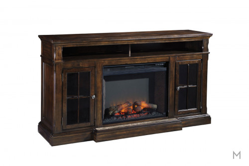 Roddinton TV Stand with Infrared Fireplace
