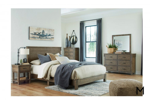4-Piece Queen Panel Bedroom Set