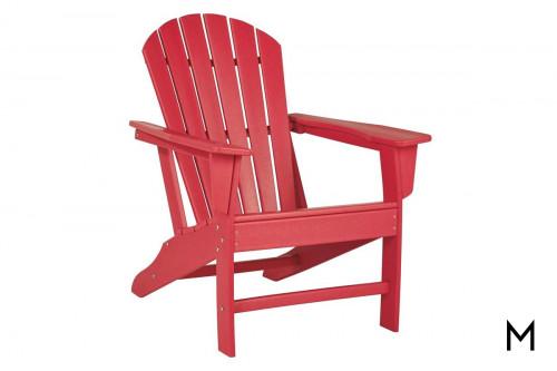 Sundown Adirondack Chair in Red