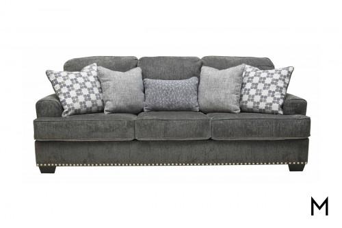 Locklin Sofa in Carbon Grey